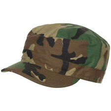 BDU Style Field Hat Army Combat Patrol Cap Cotton Ripstop US Woodland Camo S-XXL