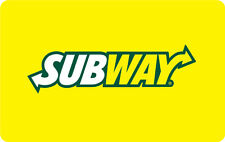 $10 / $25 Subway Gift Card - Mail Delivery