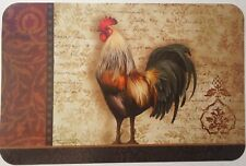 KITCHEN ROOSTER THEME VINYL PLACEMATS SELECT: Rooster Theme