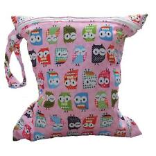 Lovely Baby Infant Waterproof Zipper Reusable Cloth Diaper Nappy Mummy Bag