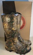 "IRISH SETTER 4893 MEN'S RUTMASTER CAMO WATERPROOF 17"" HUNTING BOOTS NEW IN BOX"