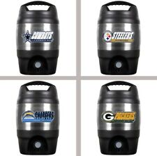 Choose Your NFL Team 1 Gallon Insulated Plastic & Stainless Steel Tailgate Jug