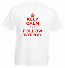 Keep Calm Football T-Shirt - Liverpool
