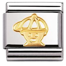 Nomination Italy Genuine Nominations Gold Boy Cap Classic Charm Tool Gift