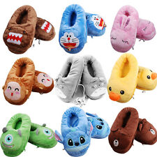 New Cute Cartoon Kawaii USB Foot Warmer Shoes Computer PC Electric Heat Slipper