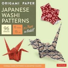 Origami Paper: Japanese Washi Patterns: Perfect for Class Projects and...