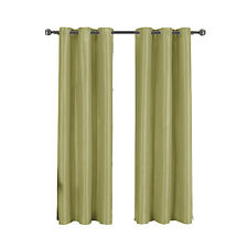 Green Grommet Thermal insulated Blackout Soho Window Curtain Panel