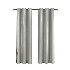 Silver Grommet Thermal insulated Blackout Soho Window Curtain Panel