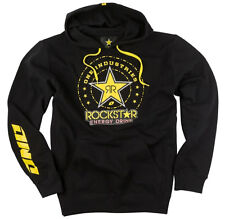 ONE INDUSTRIES MEN'S ROCKSTAR ORDER PULLOVER HOODIE SWEAT BLACK adult motocross
