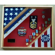United States Coast Guard Flag Display Case Coast Guard Gift Made By Veterans