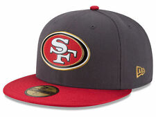 Official San Francisco 49ers New Era 59FIFTY Hat NFL On Field Gold Collection