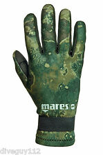 Mares Pure Instinct Amara 2mm Camo Five Finger Gloves All Sizes