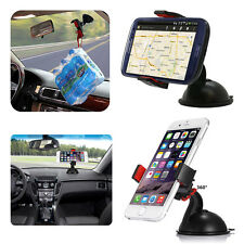 Car Holder Windshield Mount Bracket Stand 360°Rotating For Cell Phone GPS iPhone