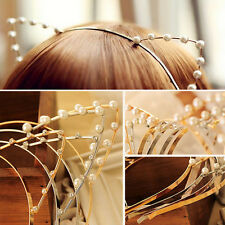 Silver/Golden Sexy Cat Ear Girl Head Band Beaded Hair Band Metal SUP