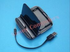 Dual Desktop Cradle Dock Base Battery Charger For Samsung Galaxy S5 S4 S3 Note 2