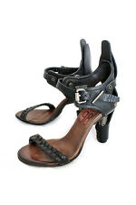 A.S.98 Pascha Stilletto Shoe Cool Leather with Metal High Heel