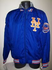 New York METS Ripstop Nylon Jacket with attached hood LG  XL JH Designs