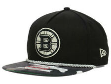 Boston Bruins NHL Hidden Metallic Urban Camo Flat Bill Snapback Hat Cap Lid B's