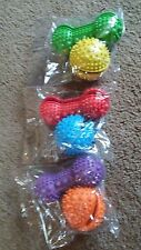 Treat ball  Dog Chew Toy twin pack ball and bone