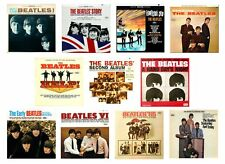 MINIATURE Non Playable  RECORD ALBUMS - BEATLES - AMERICAN RELEASES - VARIOUS