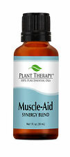 Muscle Aid Synergy Essential Oil Blend 100% Pure, Therapeutic Grade
