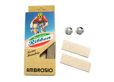 New Ambrosio Cork Handle Bar Tape Ribbon w End Plugs - Italian Cinelli alternate