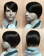 Toupee hair replacement system 100% human hair topper top piece for men women