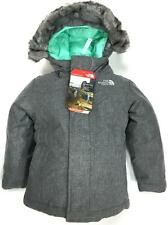 NEW NORTH FACE TODDLER GIRLS' GREENLAND DOWN JACKET 550-FILL INSULATED CRX0