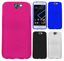 For HTC One A9 TPU CANDY Gel Flexi Skin Case Phone Cover Accessory