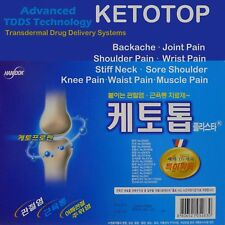 New Ketotop Plaster Pain Relief Patch 306 Sheet Ketoprofen Korea DDS FDA, Zipper