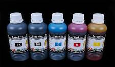 Dye based ciss ink refill 5 x 100ml fits with Epson printers bulk refill ink