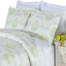 Combed Cotton with 300 Thread count Lana Comforter Set (4PC, Full/Queen)