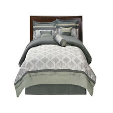 Gray Thomasville Bed in a Bag Bedding Set (11-PIECE)