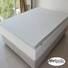 """CHRISTMAS SALE"" Abripedic 2.5""Gel Memory Foam Mattress Topper 5 Sizes Available"