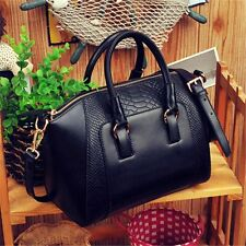 Women Leather Handbag Office Lady Tote Messenger Shoulder Bag Satchel Cross Body