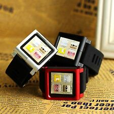 New Multi-Touch Watch Band Kit Wrist Strap Bracelet For iPod Nano 6 6th Gen