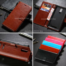 Business Stand Wallet Luxury PU Leather Filp Cover Skin Case For Xiaomi Mobiles