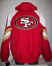 SAN FRANCISCO 49ERS STARTER PRO LINE Winter Jacket M, L, XL, 2X