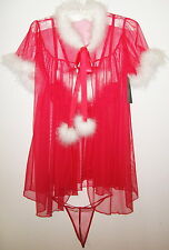 Cinema Etoile Seductivewear Sexy Valentines Sheer See Through Lingerie Sm Med