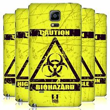 HEAD CASE DESIGNS HAZARD SYMBOLS REPLACEMENT BATTERY COVER FOR SAMSUNG PHONES 1