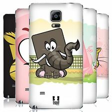 HEAD CASE DESIGNS SQUARE FACE ANIMALS BATTERY COVER FOR SAMSUNG PHONES 1