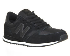 Mens New Balance 420 Trainers BLACK BLACK Trainers Shoes