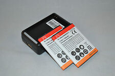 Samsung Batteries x 1 2 3 or Charger for Galaxy Note i717 N7000 i9220 EB615268VU