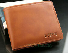 Men PU Leather Bifold Wallet Pocket Credit/ID Card Holder Clutch Coin Purse New
