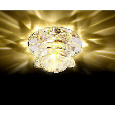 Modern 10cm 3W Crystal LED Ceiling lights chandeliers Colorful Aisle lights #QWR