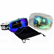Cycling professional ski/snowboarding goggles double lens anti-fog snow goggles