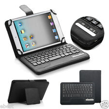 "Universal Bluetooth Keyboard PU Leather Case Cover For 7"" 7.7"" 7.9"" 8"" Tablet PC"