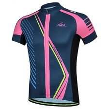 Outdoor Sports Cycling Bicycle Wear Jacket Tops Short Sleeve Shirt Bike Jerseys