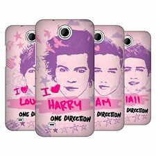OFFICIAL ONE DIRECTION PINK GRAPHIC FACES HARD BACK CASE FOR HTC PHONES 3
