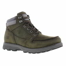 Caterpillar Receptive Mens Wide Fit Leather Cat Ankle Boots Size UK 6 7 8